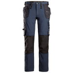 Snickers 6271 AllroundWork, Full Stretch Trousers Holster Pockets, Navy