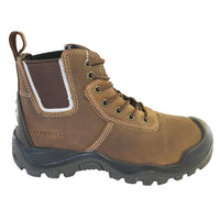 Buckler BHYB2 Anti-Scuff Safety Work Boots Brown Sizes 6-13 Mens Dealer Brown or Honey