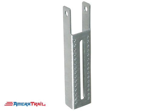 "Vertical 12 5/8"" x 2"" Bunk Bracket for Mounting Bunks on Edge - Galvanized"