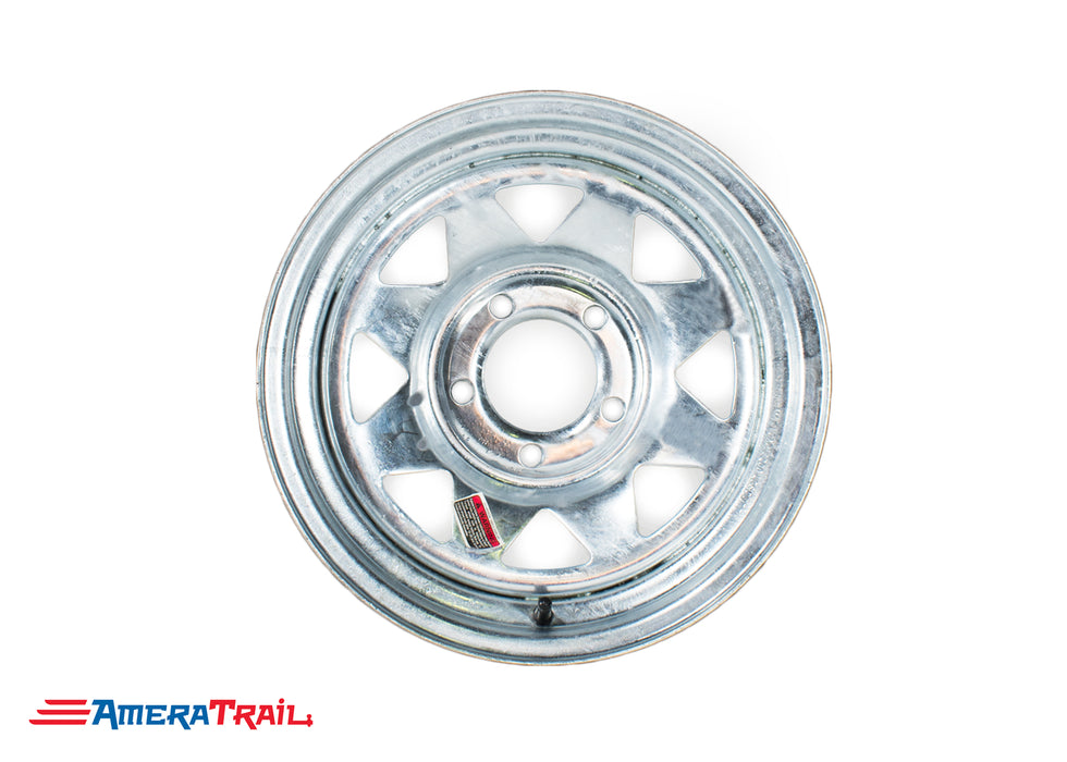 Galvanized Trailer Wheel