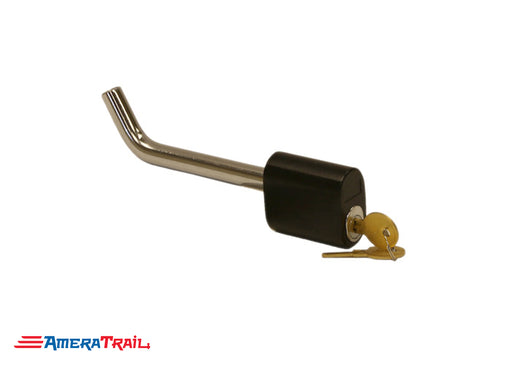 "5/8"" Locking Hitch Pin for 2"" Receivers, Chrome / Powder Coat Finish - Buyers"