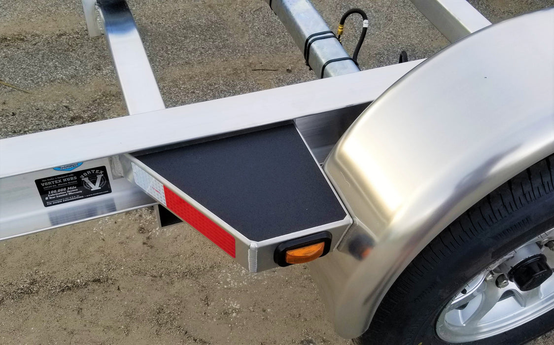 "Step Non Skid for AmeraTrail I Beam Trailers, Peel and Stick - Available for 22"" and 28"" Rear Steps"