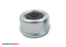 "EZ Lube 6 Lug Grease Cap 2.45"" OD W/ Removable Grommet, Fits Standard 6 Lug 5.2k Hub"