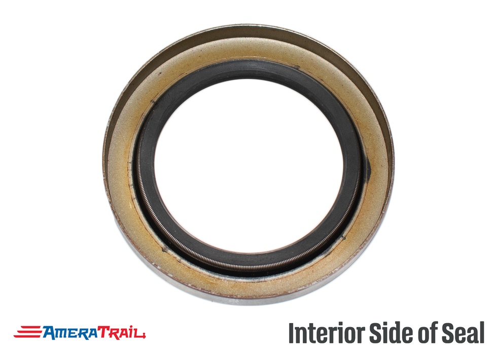 "6 - 8 Lug Rear Hub Seal / Double Lip Seal, 2.25"" ID X 3.376"" OD, Commonly Used On 5.2-8K Axles"