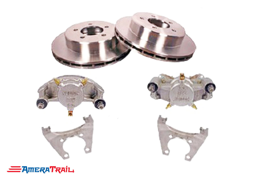 "5 Lug 3.5K Kodiak Brake Kit , ALL STAINLESS STEEL - 5 on 4.5"" Bolt Pattern"