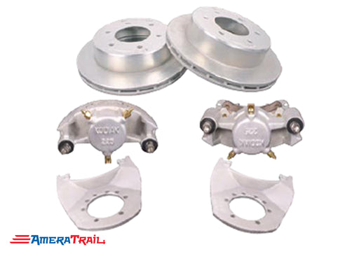 "6 Lug 5K / 6K Kodiak Brake Kit , ALL DACROMET FINISH - 6 on 5.5"" Bolt Pattern"