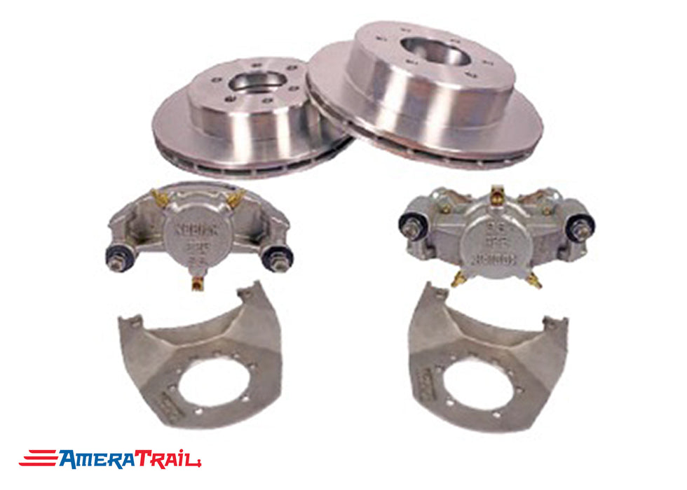 "6 Lug 5K / 6K Kodiak Brake Kit , ALL STAINLESS STEEL - 6 on 5.5"" Bolt Pattern"