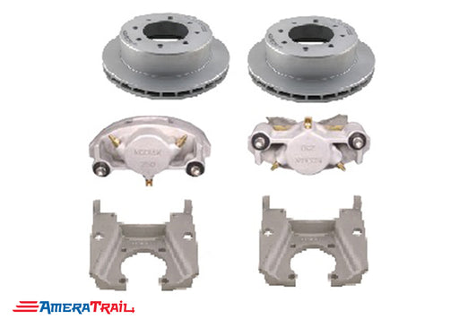 "8 Lug 8K Kodiak Brake Kit for Dexter / Lippert Axles, ALL DACROMET FINISH - Fits 5/8"" Wheel Studs"