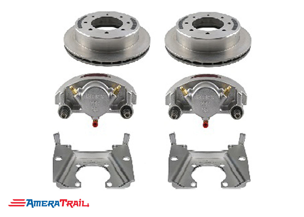 "8 Lug 8K Kodiak Brake Kit for Dexter / Lippert Axles, ALL STAINLESS STEEL - Fits 5/8"" Wheel Studs"