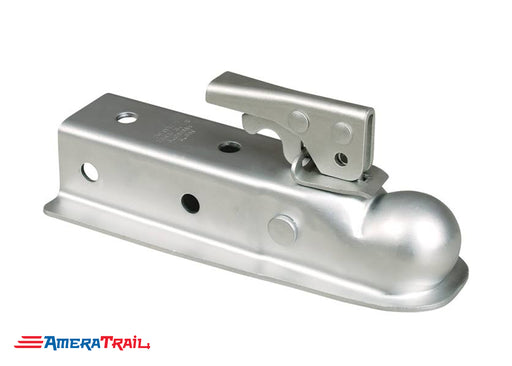 "2"" Coupler for 2"" Tongue , 3500 lbs GVWR Class 2 , Zinc Plated- RAM"