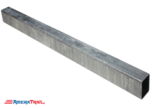 "5 x 3 x 3/16 Galvanized Trailer Tongue, Full 96"" Stick"