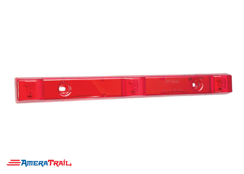 Red LED ID Light Bar, 2 Wire Pigtail - Wesbar