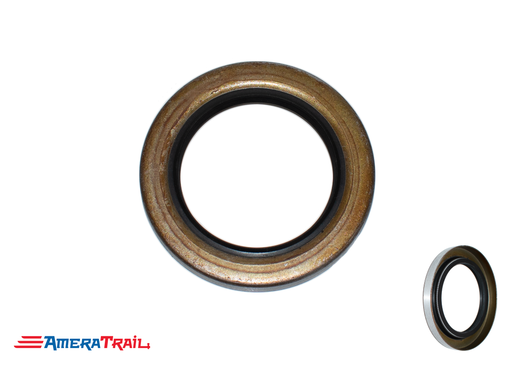 "5 Lug Rear Double Lip Hub Seal, 1.719"" ID X 2.565"" OD, Common On 3.5K Axles - # 010-019-00 / 171255TB"