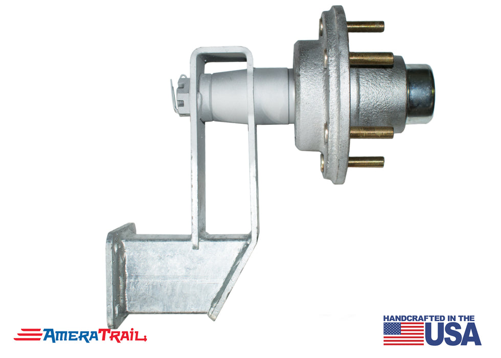 6 Lug Spare Idler Hub & Spindle Mount - Stainless Steel Hardware Included - Available w/ Stainless Steel Lug Nuts