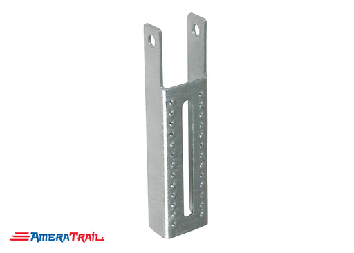 "Vertical 9.5"" x 2"" Bunk Bracket for Mounting Bunks on Edge - Galvanized"