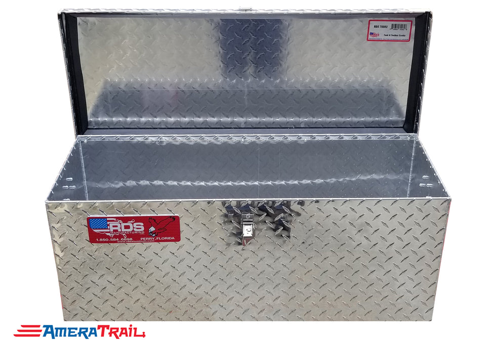 Cargo Style Diamond Plate Tool Box