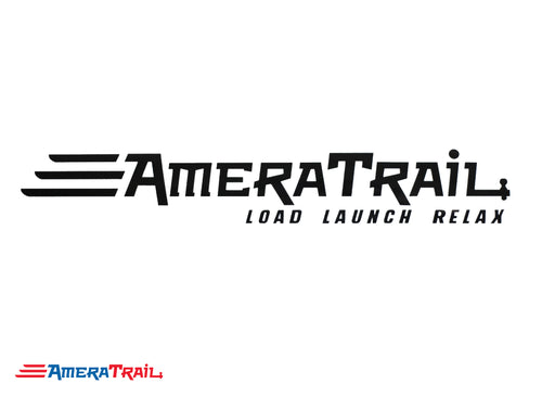 AmeraTrail Vinyl Marine Decals - Available in Different Sizes and Colors