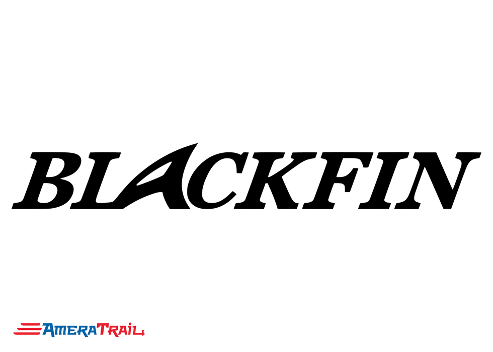 Blackfin Boats Vinyl Marine Decals - Available in Different Sizes and Colors