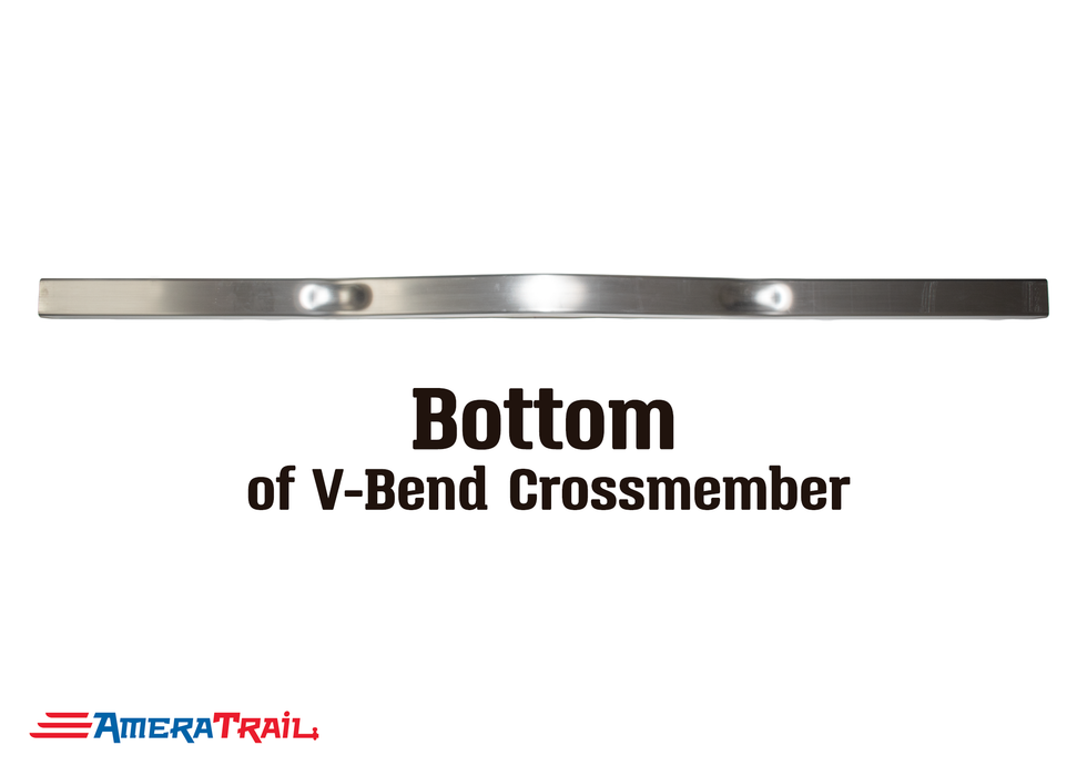 "59 X 3 X 3"" V Bend Cross Member, 3/16"" Wall, Structural Aluminum"