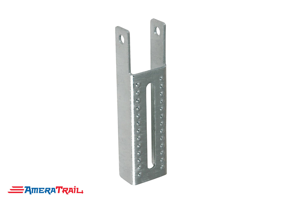 "Vertical 7.5"" x 2"" Bunk Bracket for Mounting Bunks on Edge - Galvanized"