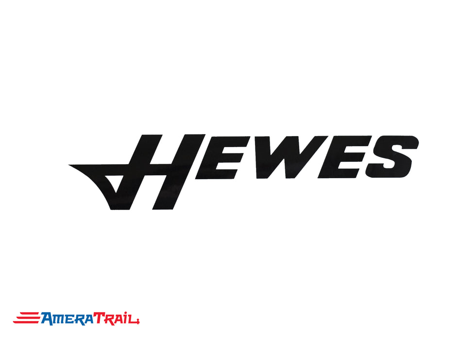 Hewes Vinyl Marine Decals - Available in Different Colors