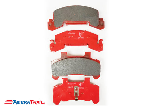 Kodiak 225 Dacromet Coated Ceramic Brake Pads