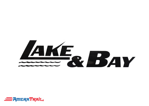 Lake & Bay Vinyl Marine Decals - Available In Different Colors