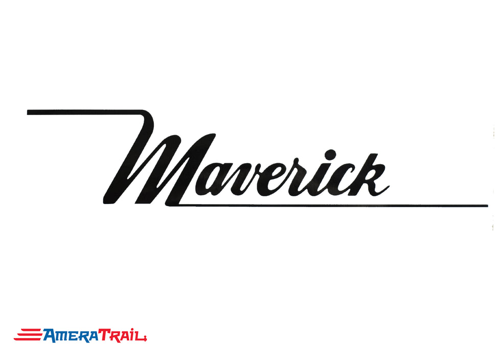 Maverick Vinyl Marine Decals - Available In Different Colors
