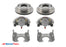 "8 Lug 8K Kodiak Brake Kit for Rockwell & Alko Axles, ALL STAINLESS STEEL - Fits 5/8"" Wheel Studs"
