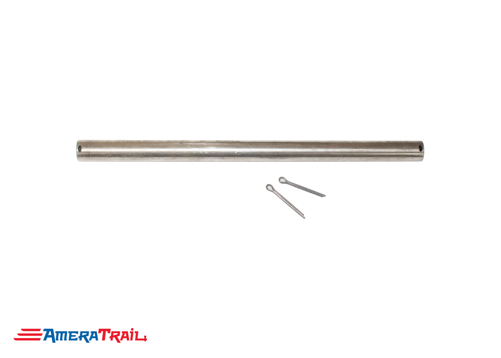 "5/8"" Stainless Steel Roller Rod - *Cut to Desired Length* - Includes Two Stainless Steel Cotter Pins"