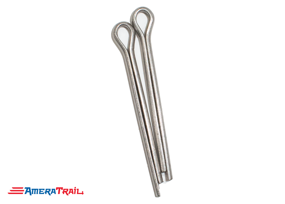 "14 1/4"" x 5/8"" Stainless Steel Roller Rod - Fits 12"" Keel Roller , Includes Stainless Steel Cotter Pins"