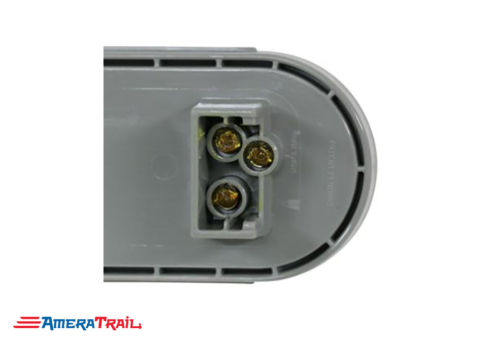 "6"" Oval LED Flush Mount Tail Light , Optronics"