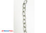 "Safety Chain w/ S Hook and Safety Latch, 27"" Length 5200 lbs Capacity, Anti Corrosive Zinc Coating"