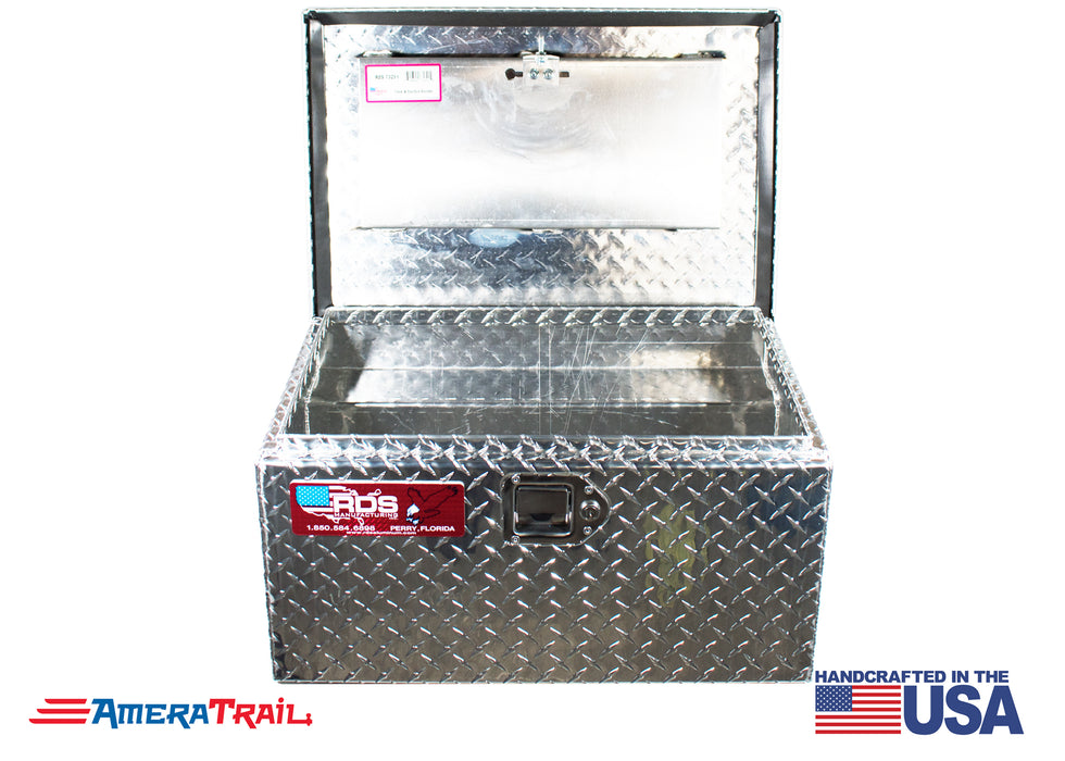 Side Mount Diamond Plate Tool Box