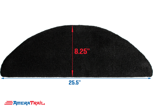 Single Fender Pad - Carpeted Fender Bunk - Fits Most Tandem Fenders