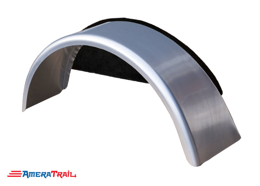 Single Axle Slant Back Fender , Available w/ Fender Pad