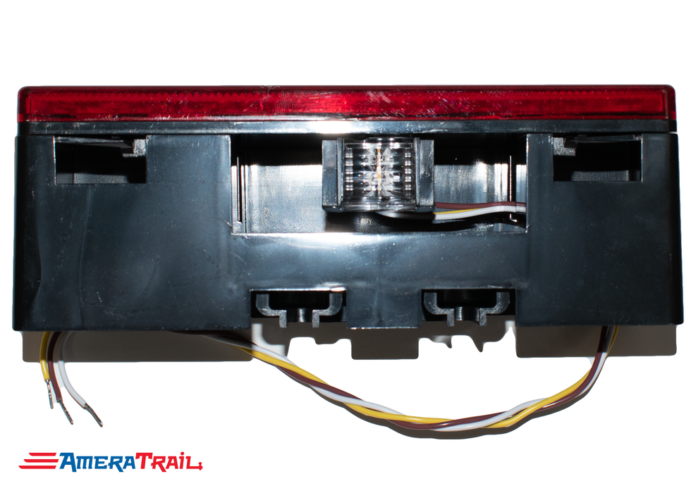 Low Profile Multi Function LED Tail Light, DRIVER, Stop / Turn / Tail / Side Reflector / Tag Light - Tecniq
