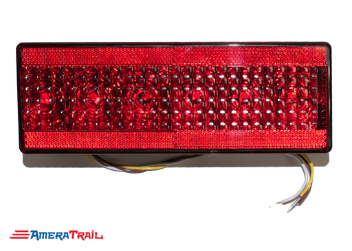 Low Profile Multi Function LED Tail Light, PASSENGER, Stop / Turn / Tail / Side Reflector - Tecniq