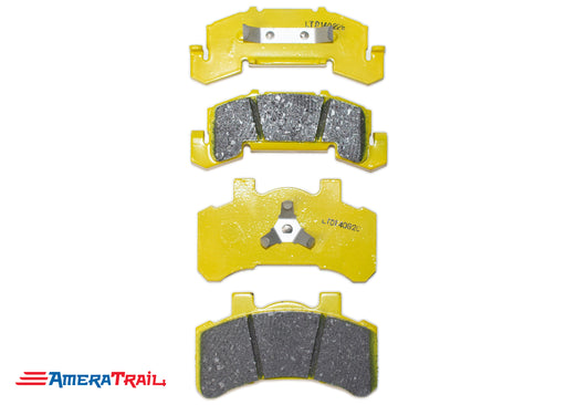 Tie Down Brake Pads for 46304 Caliper w/ Non Corrosive Coating and Stainless Steel Clips - Completes One Axle