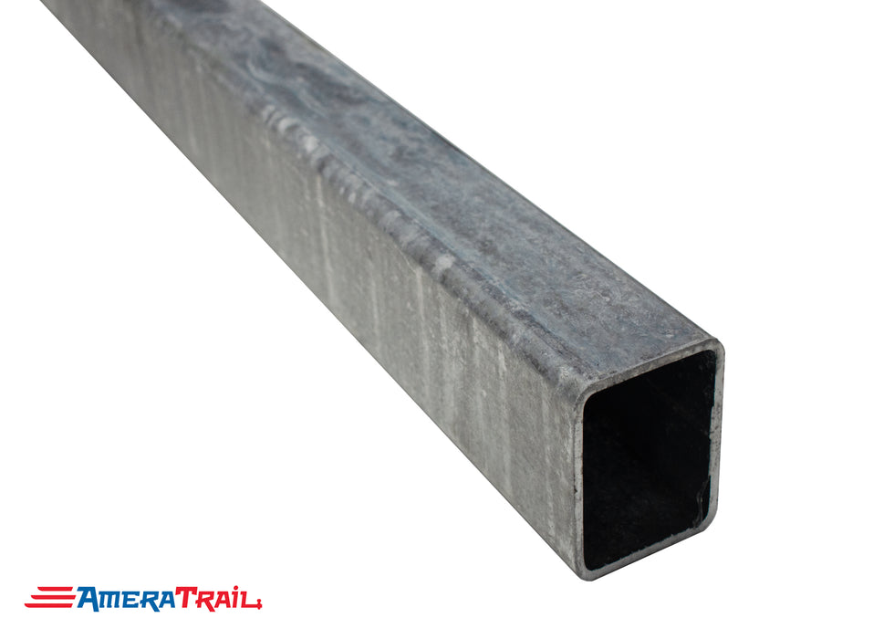 "3 x 4 x 3/16 Galvanized Trailer Tongue, Available in 60"" & 72"""