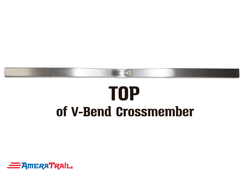 "80 X 3 X 3"" V Bend Cross Member, 3/16"" Wall, Structural Aluminum"