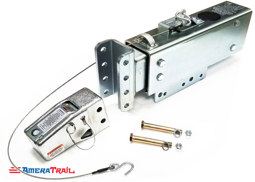 "20,000 lb Surge Brake Actuator w/ Adjustable Channel Front, Includes 2 5/16"" Heavy Duty Coupler"