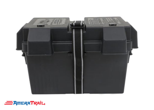 Electric Over Hydraulic Battery Box, UV Resistant Black w/ Strap - NOCO