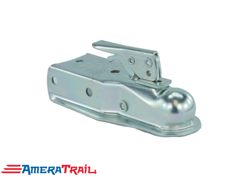 "2"" Coupler , 5000 lb Capacity , 3"" Channel , Zinc Plated - Dutton Lainson USA"