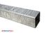"3"" x 3"" x 3/16"" Galvanized Steel Trailer Tongue, Available in 60"" & 72"""