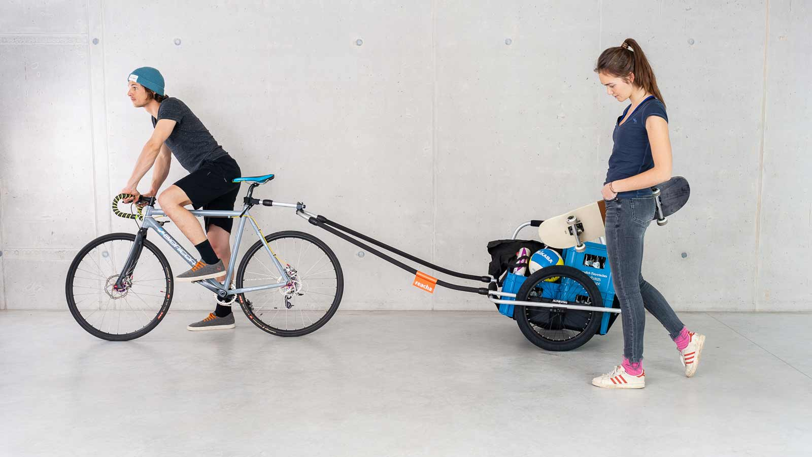 bike trailer for families and more