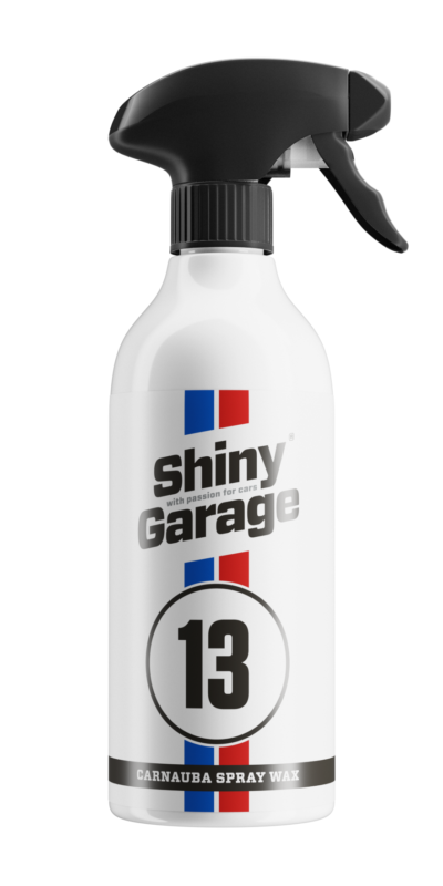 Shiny Garage Carnauba Spray Wax 500ml
