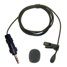 PRO LAVALIERE LAPEL MICROPHONE MINI CLIP ON TIE OMNI-DIRECTIONAL FOR ALL TYPES OF RADIO TRANSMITTERS