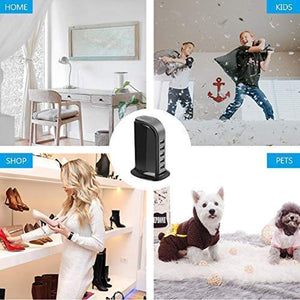 4K UHD Wireless Wi-Fi Video Camera Recorder in USB Tower Charger Station