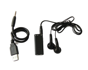 ULTRA MINIATURE 8GB DIGITAL VOICE RECORDER with SUPER SENSITIVE SPY MICROPHONE 8 HOUR BATTERY LIFE